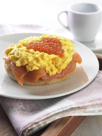Scrambled Eggs With Salmon Farm Pride