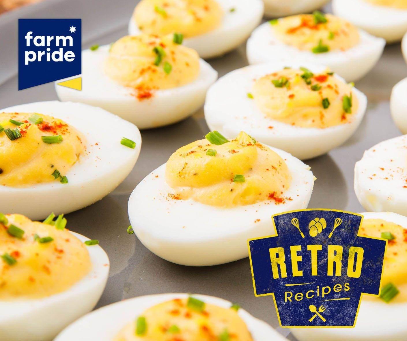 Retro Recipe: BBQ Deviled Eggs